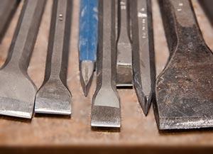 herramientas de corte cinceles