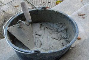 herramientas para un albañil