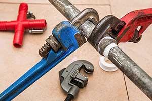 herramientas de fontanería